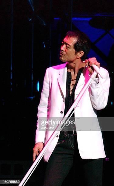Eikichi Yazawa during Eikichi Yazawa Kicks Off 'Fifty Five Way' Tour with Five Sold Out Shows December 15 2004 at Nippon Budokan in Tokyo Japan