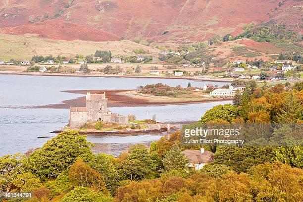 Eilean Donan castle and Loch Duich.