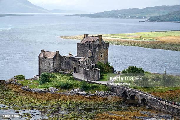Castillo Eilean Donan vista elevada