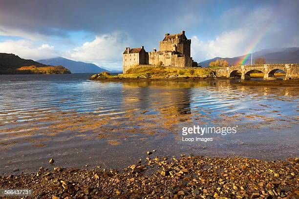 Eilean Donan Castle from the shores of Loch Duich