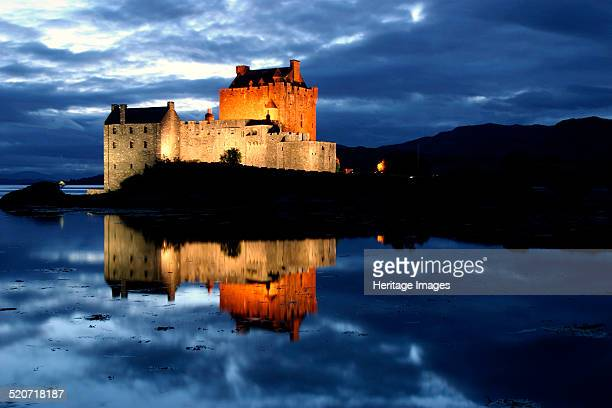 Eilean Donan Castle Highland Scotland Eilean Donan Castle was built in 1220 by Alexander II of Scotland A stronghold of the MacKenzie and MacRae...