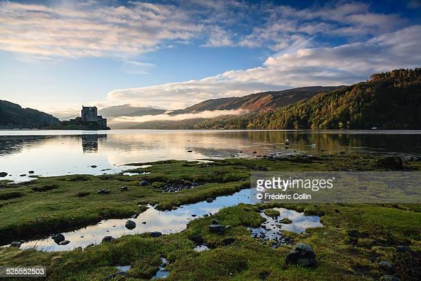 Eilean Donan Castle in the early morning