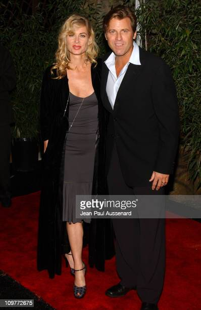 Eileen Davidson and Vince Van Patten during Hollywoodpokercom 1st Anniversary Party Arrivals at Montmartre Lounge in Hollywood California United...