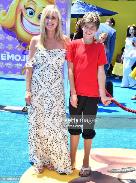 Eileen Davidson arrives at the Premiere Of Columbia Pictures And Sony Pictures Animation's 'The Emoji Movie' at Regency Village Theatre on July 23...