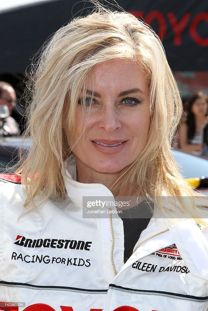 <a gi-track='captionPersonalityLinkClicked' href=/galleries/search?phrase=Eileen+Davidson&family=editorial&specificpeople=663986 ng-click='$event.stopPropagation()'>Eileen Davidson</a> at the 36th Annual 2012 Toyota Pro/Celebrity Race - Press Practice Day on April 3, 2012 in Long Beach, California.