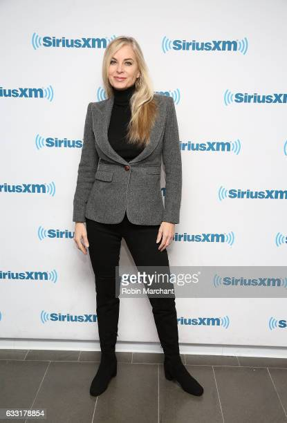 Eileen Davidson visits at SiriusXM Studios on January 31 2017 in New York City
