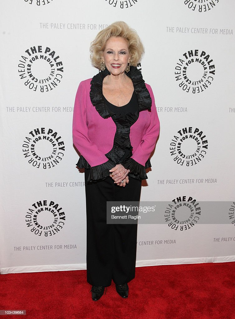 Eileen Fulton attends a farewell to cast of 'As The World Turns' at The Paley Center for Media on August 18, 2010 in New York City.