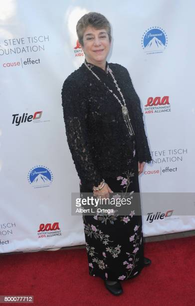 Eileen Salmas attends the Entertainment AIDS Alliance's Annual EAA Wine Wisdom Vision Event Benefiting Village Health Foundation And UCLA CARE Center...