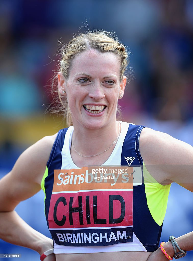 <a gi-track='captionPersonalityLinkClicked' href=/galleries/search?phrase=Eilidh+Child&family=editorial&specificpeople=6146746 ng-click='$event.stopPropagation()'>Eilidh Child</a> after winning the Women's 400m hurdles final during the Sainsbury's British Championships Birmingham: Day Three at Birmingham Alexander Stadium on June 29, 2014 in Birmingham, England.