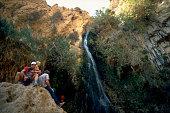Ein Gedi Oasis Waterfall