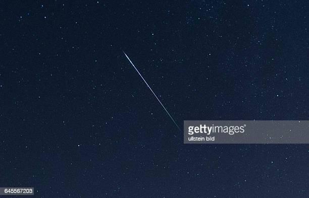 Ein imposanter Sternschnuppenregen kann von der Halde Lydia aus beobachtet werden Die Perseiden ziehen insbesondere die Fotografen in ihren Bann