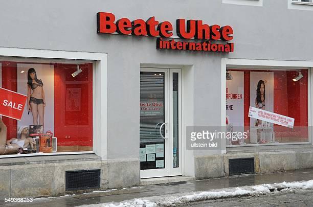 Ein Shop von Beate Uhse International in Regensburg