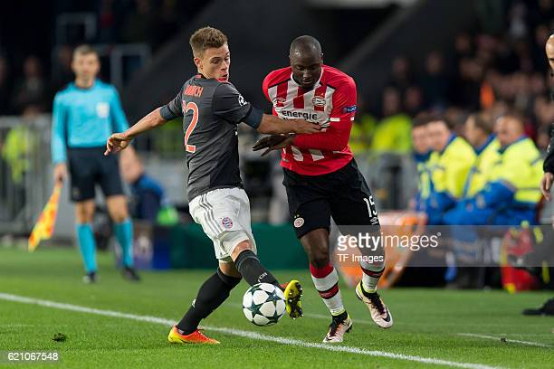 Eindhoven Netherlands UEFA Champions League 2016/17 Season Group D Matchday 4 PSV Eindhoven FC Bayern Muenchen Joshua Kimmich gegen Jetro Willems