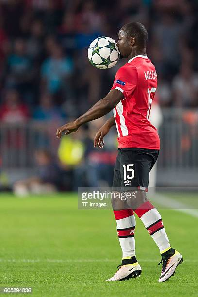 Eindhoven Netherlands UEFA Champions League 2016/17 Season Group D Matchday 1 PSV Eindhoven Club Atletico de Madrid 01 Jetro Willems