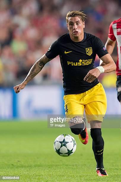 Eindhoven Netherlands UEFA Champions League 2016/17 Season Group D Matchday 1 PSV Eindhoven Club Atletico de Madrid 01 Jose Gimenez