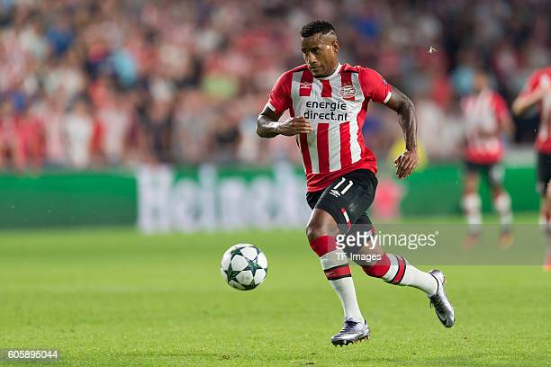 Eindhoven Netherlands UEFA Champions League 2016/17 Season Group D Matchday 1 PSV Eindhoven Club Atletico de Madrid 01 Luciano Narsingh