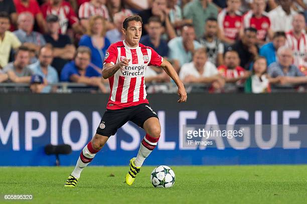 Eindhoven Netherlands UEFA Champions League 2016/17 Season Group D Matchday 1 PSV Eindhoven Club Atletico de Madrid 01 Andres Guardado