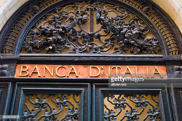 Eine Filiale der 'Banca D'Italia' in Venedig Italienische Banken