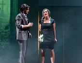 Eine Hauptprobe zu Paradise of Pain findet am Staatstheater in Saarbrücken statt Der Sensationserfolg von 1998 aus der Feder vorn Frank Nimsgern...