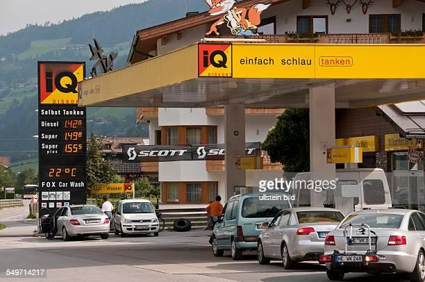 Die Norm der Kosten des Benzins auf die ausländischen Wagen
