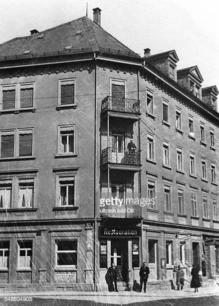 Einstein Albert physicist Germany/USA *14031879 birthplace in Ulm Bahnhofsstrasse 20 Vintage property of ullstein bild