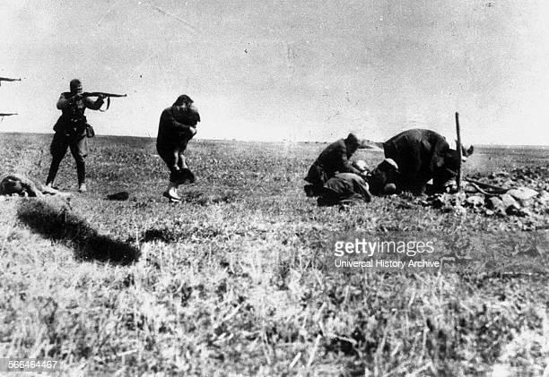 Einzatz Gruppen execute Jews in Kiev in the Ukraine 1942