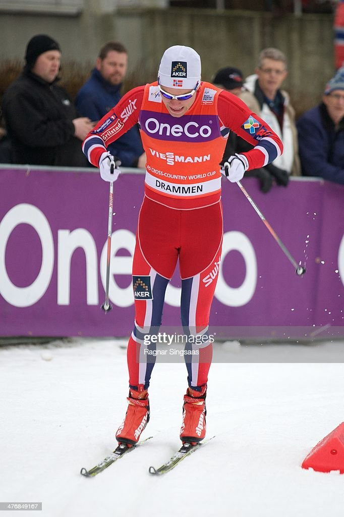 <a gi-track='captionPersonalityLinkClicked' href=/galleries/search?phrase=Eirik+Brandsdal&family=editorial&specificpeople=6567373 ng-click='$event.stopPropagation()'>Eirik Brandsdal</a> of Norway competes in the Men's 1,3km Qualification Classic Sprint at the Viessmann FIS Cross Country World Cup event on March 5, 2014 in Drammen, Norway.