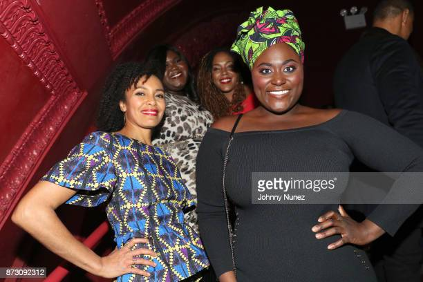 Eisa Davis Gabourey Sidibe De'Andre Aziza and Danielle Brooks attend Netflix Original Series 'She''s Gotta Have It' Premiere and After Party at BAM...