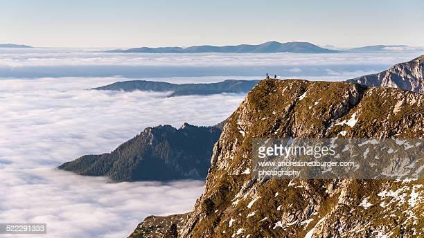 Eisenerze Reichenstein - 3 man above the clouds