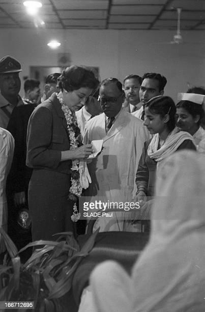 Eisenhower In Pakistan En 1959 lors d'un voyage officiel de Dwight David EISENHOWER du président des EtatsUnis au Pakistan La belle fille du...