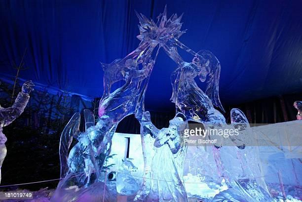 Eisskulptur 'Engel' 'Ice World 2003' 1 Deutsches EisskulpturenFestival Thema 'Die Bibel Geschichten aus dem Alten und Neuen Testament' Lübeck...