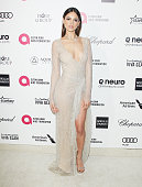 Eiza Gonzalez arrives at the 23rd Annual Elton John AIDS Foundation Academy Awards viewing party held at The City of West Hollywood Park on February...