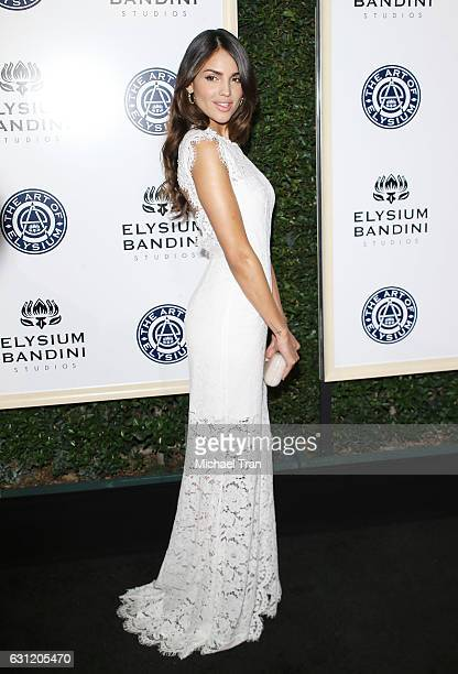 Eiza Gonzalez arrives at The Art of Elysium celebrating the 10th Anniversary held at Red Studios on January 7 2017 in Los Angeles California