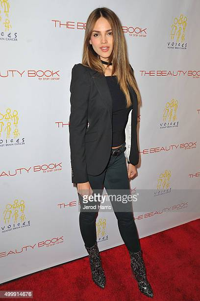 Eiza Gonzalez arrives at 'The Beauty Book For Brain Cancer' edition 2 launch party at Le Jardin on December 3 2015 in Hollywood California