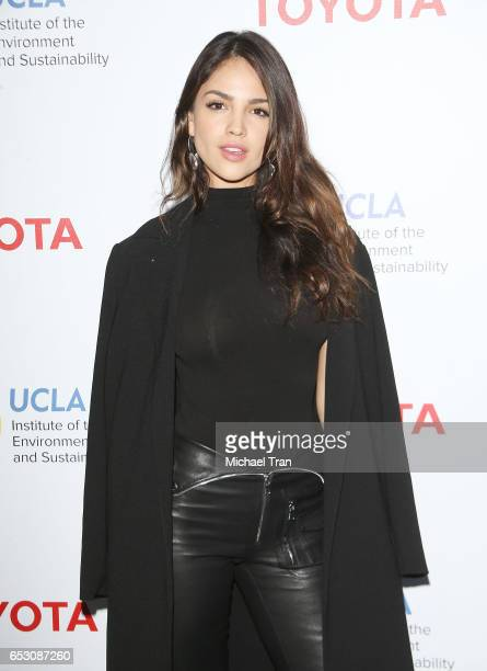 Eiza Gonzalez arrives at the UCLA Institute of The Environment and Sustainability celebrates innovators for a healthy planet held at a private...