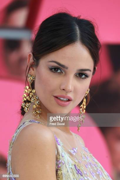 Eiza Gonzalez attend the European premiere of 'Baby Driver' on June 21 2017 in London United Kingdom