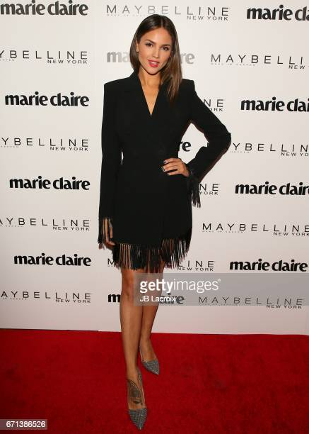 Eiza Gonzalez attends Marie Claire's 'Fresh Faces' celebration with an event sponsored by Maybelline at Doheny Room on April 21 2017 in West...