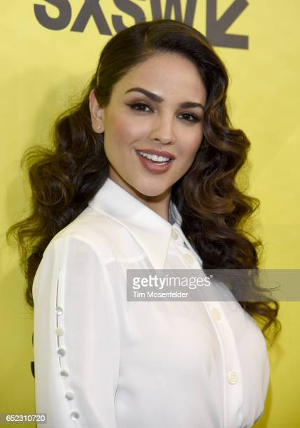 Eiza Gonzalez attends the Film premiere of 'Baby Driver' during 2017 SXSW Conference and Festivals at the Paramount Theater on March 11 2017 in...