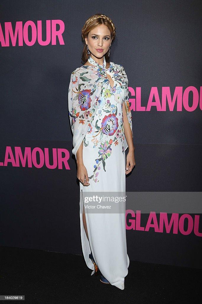Eiza Gonzalez attends the Glamour Magazine 15th Anniversary at Casino Del Bosque on October 10 2013 in Mexico City Mexico