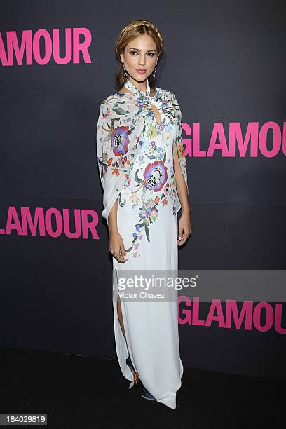 Eiza Gonzalez attends the Glamour Magazine 15th Anniversary at Casino Del Bosque on October 10 2013 in Mexico City Mexico