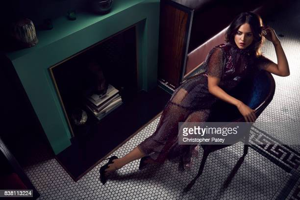 Eiza Gonzalez is photographed for The Hollywood Reporter on June 12 2017 in West Hollywood California ON DOMESTIC EMBARGO UNTIL SEPTEMBER 15 2017 ON...