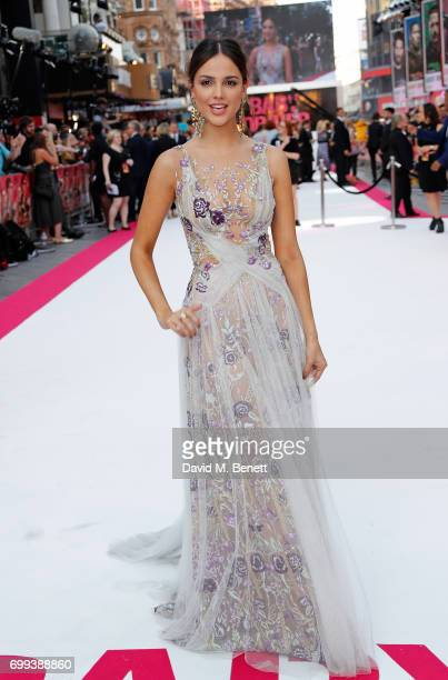 Eiza Gonz‡lez attends the European Premiere of 'Baby Driver' at Cineworld Leicester Square on June 21 2017 in London United Kingdom