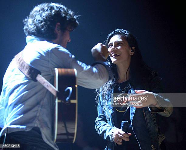 EJack Savoretti performs on stage before of Elisa at Alcatraz club on December 9 2014 in Milan Italy