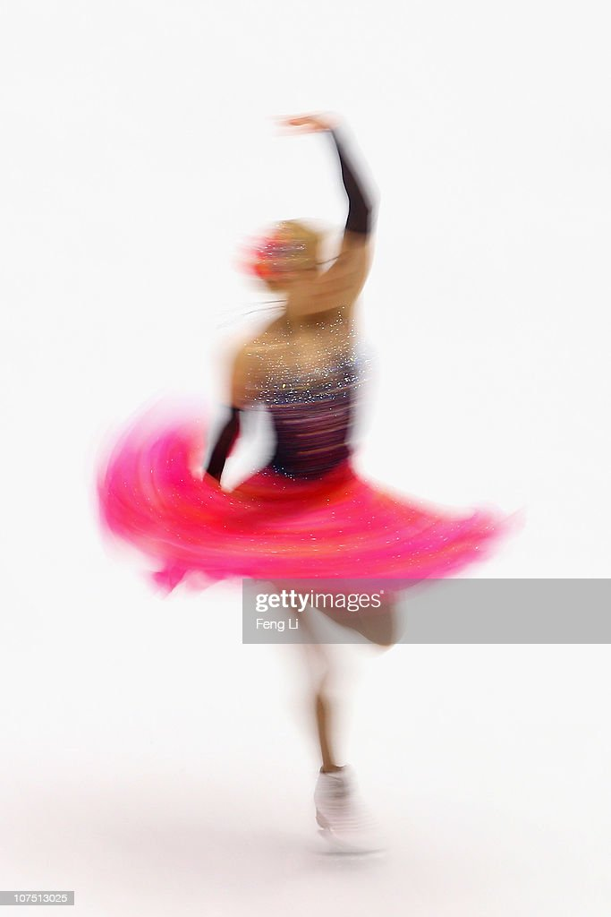 <a gi-track='captionPersonalityLinkClicked' href=/galleries/search?phrase=Ekaterina+Bobrova&family=editorial&specificpeople=4607767 ng-click='$event.stopPropagation()'>Ekaterina Bobrova</a> of Russia skates in the Ice Dance Short Dance during ISU Grand Prix and Junior Grand Prix Final at Beijing Capital Gymnasium on December 10, 2010 in Beijing, China.