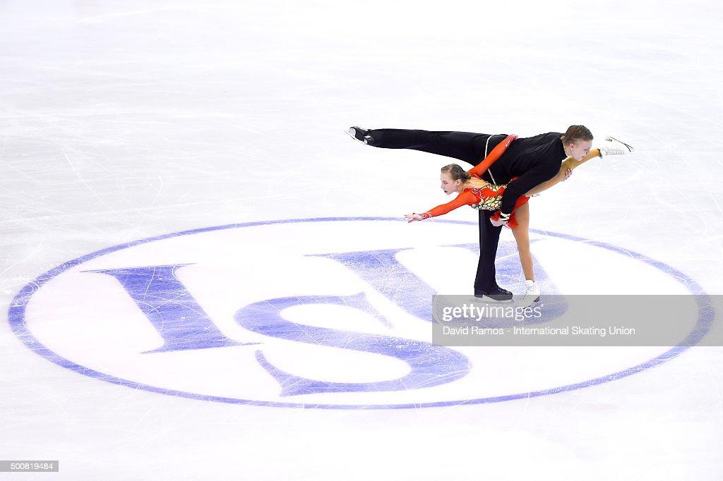 Екатерина Борисова-Дмитрий Сопот Ekaterina-borisova-and-dmitry-sopot-of-russia-perform-during-the-picture-id500819484