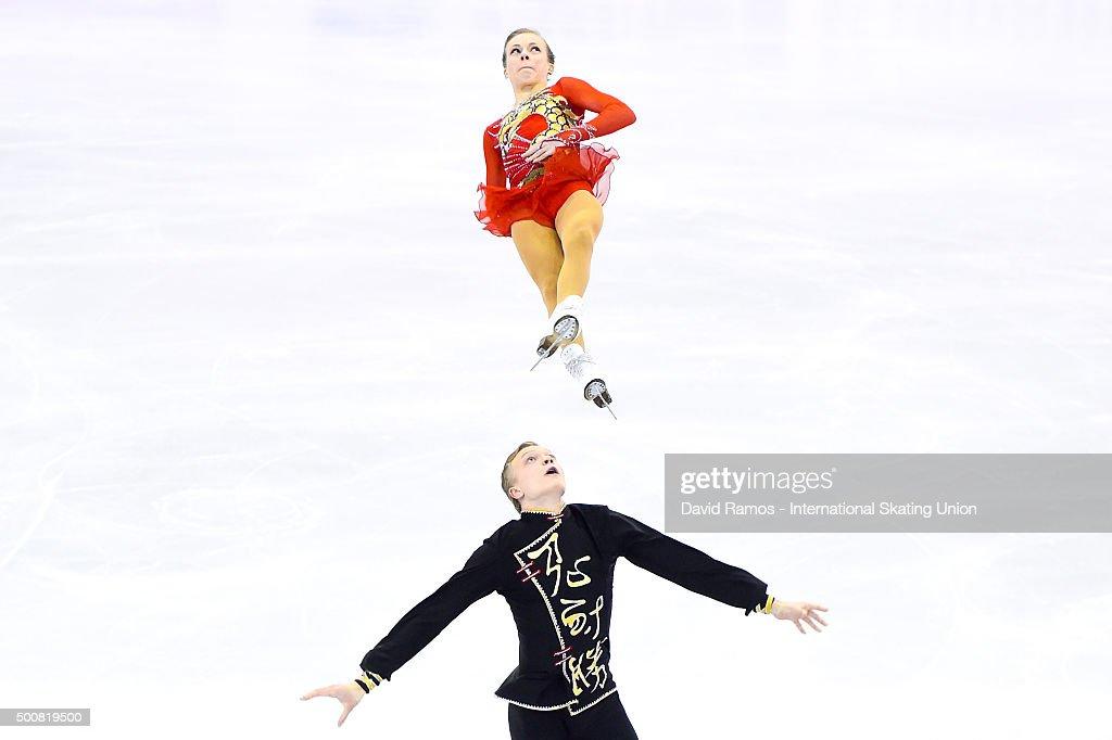 Екатерина Борисова-Дмитрий Сопот Ekaterina-borisova-and-dmitry-sopot-of-russia-perform-during-the-picture-id500819500