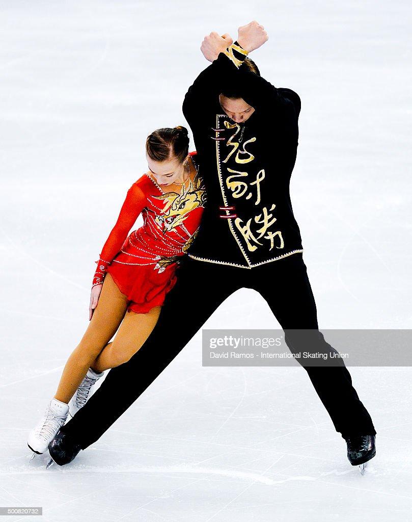 Екатерина Борисова-Дмитрий Сопот Ekaterina-borisova-and-dmitry-sopot-of-russia-perform-during-the-picture-id500820732