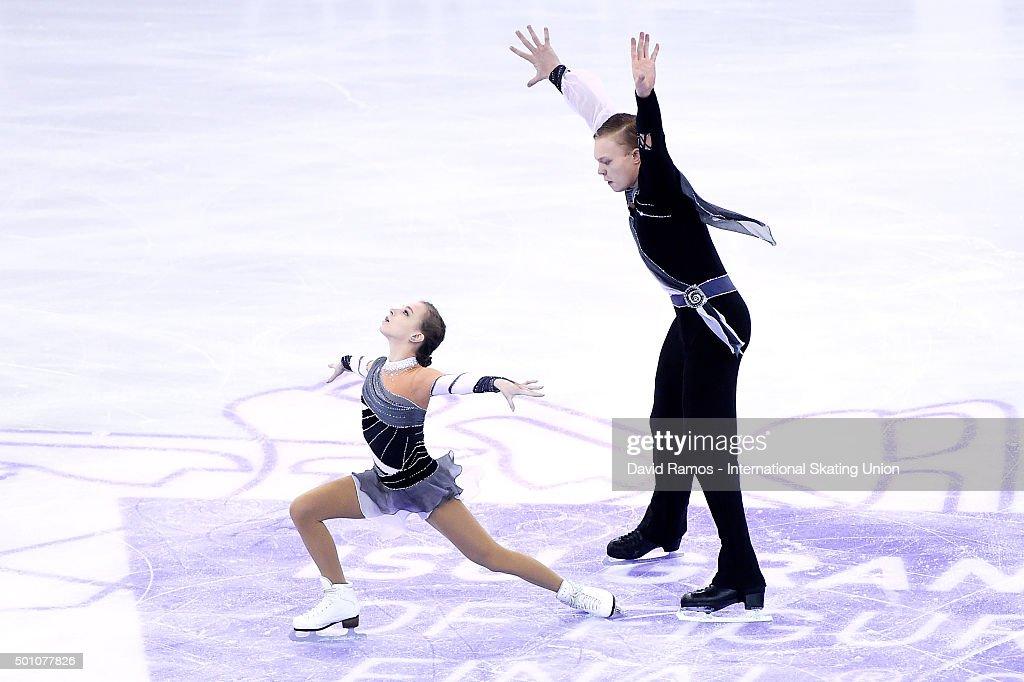 Екатерина Борисова-Дмитрий Сопот Ekaterina-borisova-and-dmitry-sopot-of-russia-perform-during-the-picture-id501077826