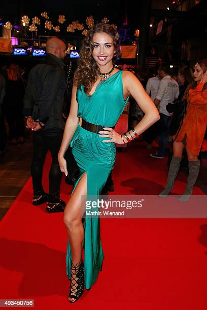 Ekaterina Leonova attends the 19th Annual German Comedy Awards at Coloneum on October 20 2015 in Cologne Germany