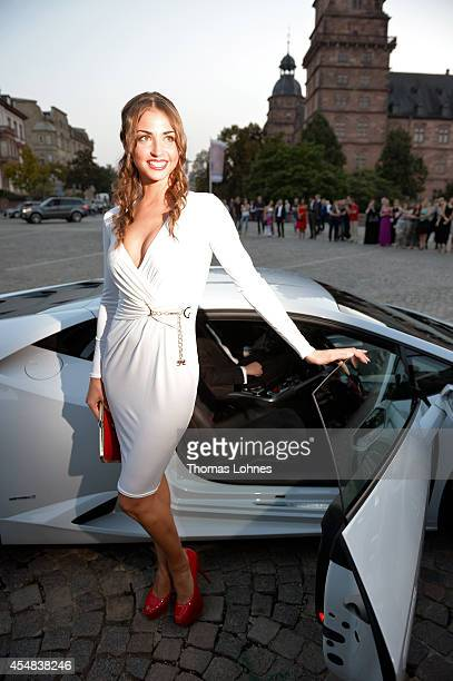 Ekaterina Leonova attends the dance gala performance 'Night Of The Stars 2014' on September 6 2014 in Aschaffenburg Germany